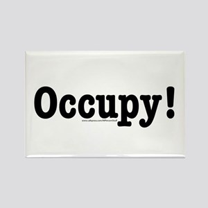 Occupy! Rectangle Magnet