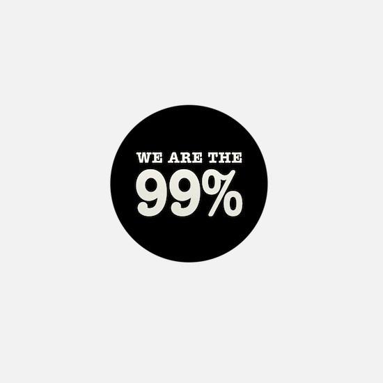 We are the 99% Mini Button