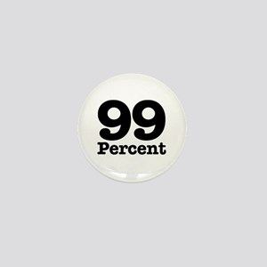 99 Percent Mini Button