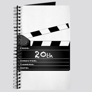 20th Year Clapperboard Journal