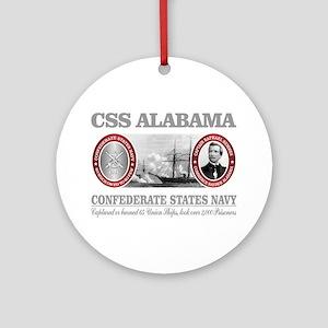 CSS Alabama Round Ornament
