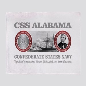 CSS Alabama Throw Blanket