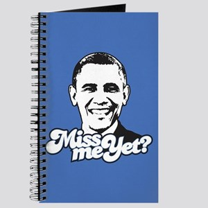 Obama Miss Me Yet Journal