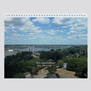 New London/groton For The Locals Wall Calendar