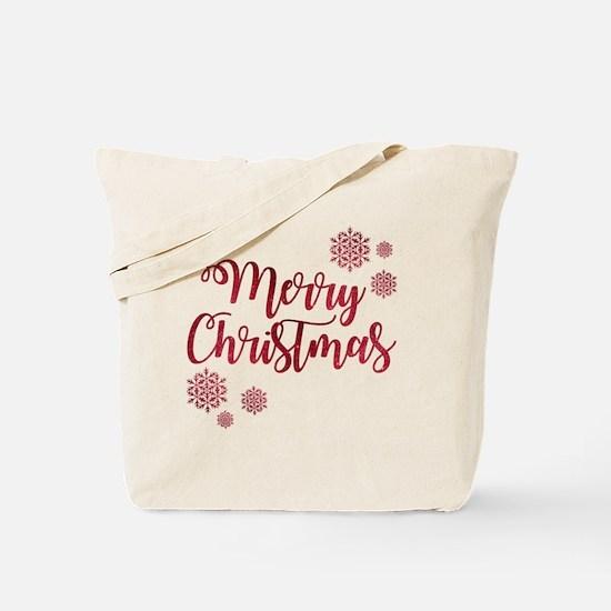 Cute Snowflake Tote Bag