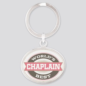 chaplain Oval Keychain