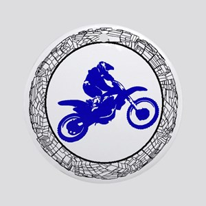 MX Round Ornament