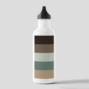 Sage Espresso brown St Stainless Water Bottle 1.0L