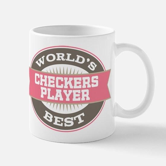 checkers player Mug