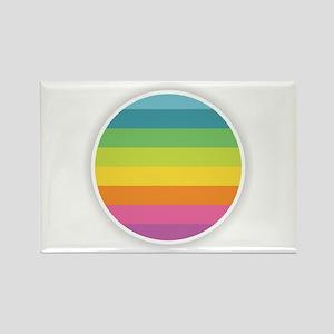 Rainbow Circle Magnets