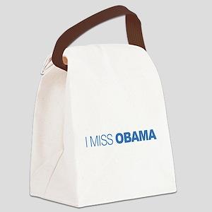 I Miss Obama Canvas Lunch Bag