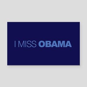 I Miss Obama Rectangle Car Magnet