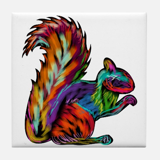 SQUIRREL Tile Coaster