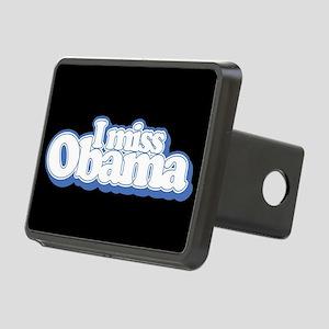 I Miss Obama B Rectangular Hitch Cover