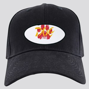 Dog Chinese New Year Shirt Ce Black Cap with Patch