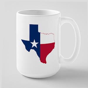 Texas Flag Map Mugs