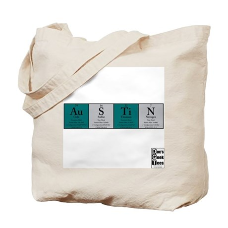 Au S Ti N Colored Tote Bag