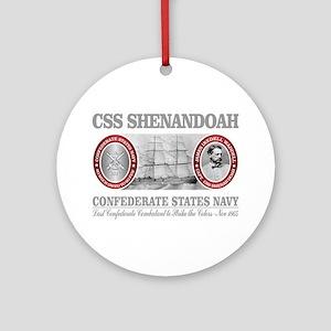 CSS Shenandoah Round Ornament
