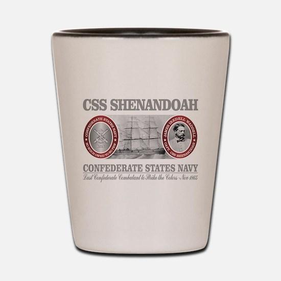 CSS Shenandoah Shot Glass
