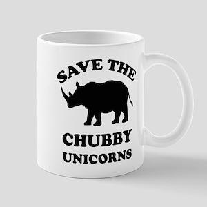 Save the chubby unicorns t-shirt Mug