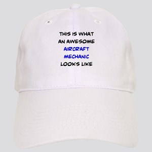 awesome aircraft mechanic Cap