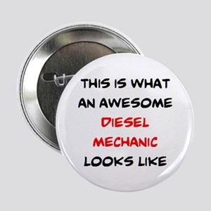 """awesome diesel mechanic 2.25"""" Button"""