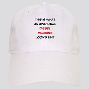 awesome diesel mechanic Cap