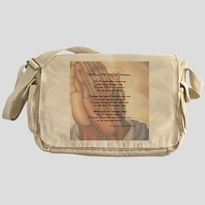 Prayer 52 x 52 Messenger Bag