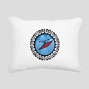 KAYAK Rectangular Canvas Pillow