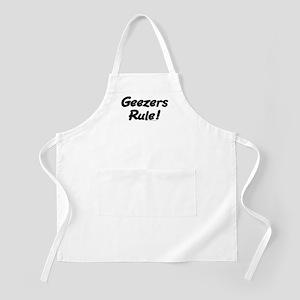 Geezers Rule! Apron