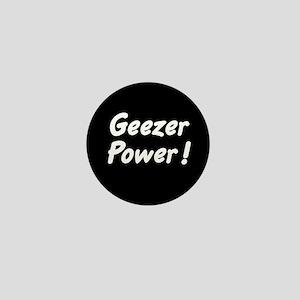 Geezer Power! Mini Button