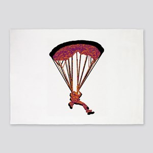 SKYDIVING 5'x7'Area Rug