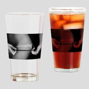 Sexy Bikini Thong Suntan Photo Drinking Glass