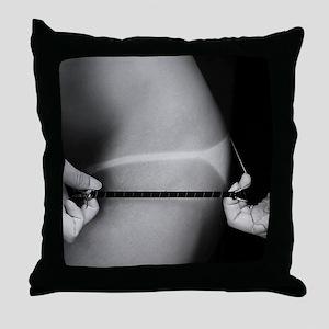 Sexy Bikini Thong Suntan Photo Throw Pillow
