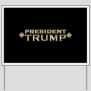 President Trump Full Bleed Yard Sign