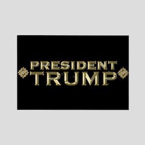 President Trump Full Bleed Rectangle Magnet