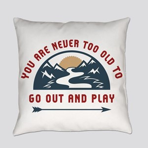 Adventure Go Out And Play Everyday Pillow