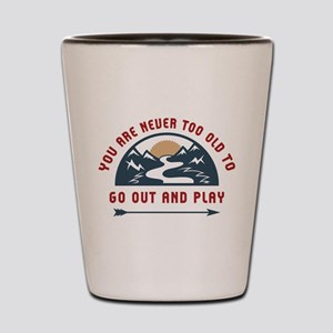 Adventure Go Out And Play Shot Glass