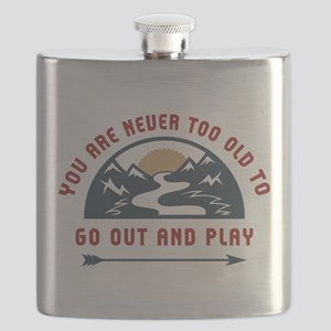 Adventure Go Out And Play Flask