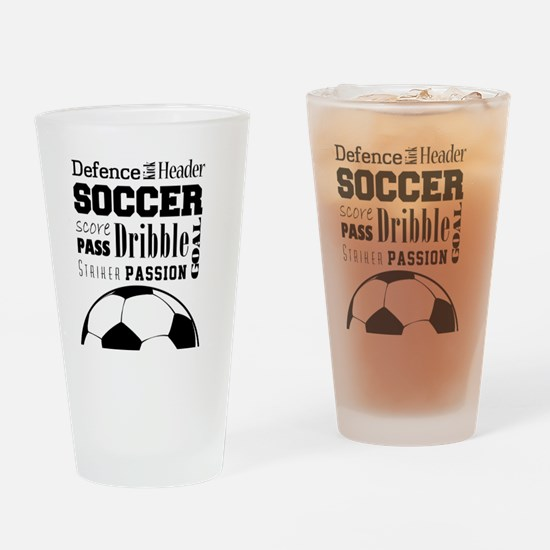 Cute 3v3 Drinking Glass