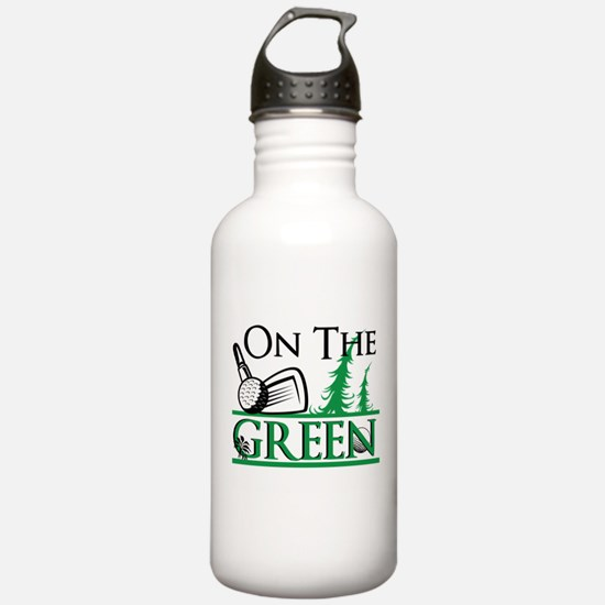 On The Green Water Bottle