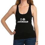 I Love To Eat Animals Racerback Tank Top