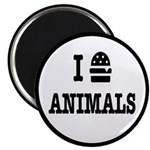 I Love To Eat Animals Magnet