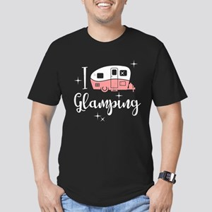 I Love Glamping Men's Fitted T-Shirt (dark)