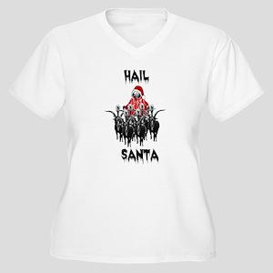 HAIL SANTA Plus Size T-Shirt