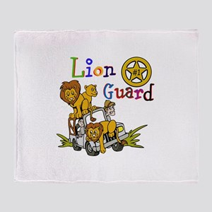 Lion Guard Number One Throw Blanket