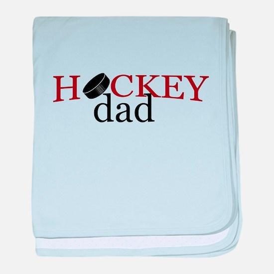 Hockey Dad baby blanket
