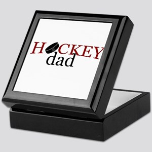 Hockey Dad Keepsake Box
