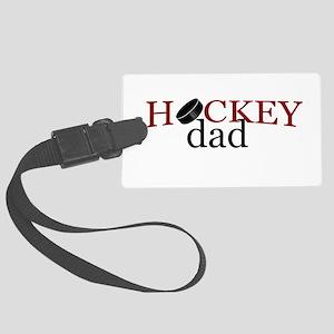 Hockey Dad Large Luggage Tag