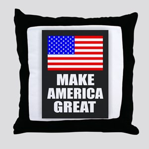 Make America Great Throw Pillow
